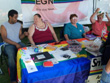 2010-08-07 GLBT Table at Blues and Jazz Festival