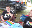 2011-08-06 LGBT Table at Blues and Jazz Fest