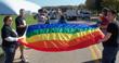 2011-10-08 Erie GLBT Contingent in Edinboro Homecoming Parad