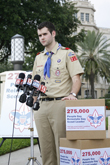 Eagle Scout Delivers 275,000 Petition Signatures Urging Boy Scouts to End Anti-Gay Discrimination