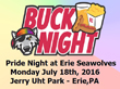 Pride Night at the Erie Seawolves on July 18