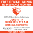 FREE Dental Clinic at Gannon University June 16-17