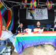 2017-08-05 NW PA Pride table at Blues and Jazz Fest