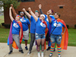 LGBT Walking Unit in Edinboro Homecoming Parade