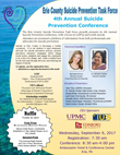 2017 Suicide Prevention Conference flyer