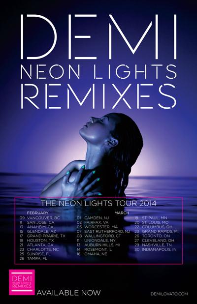 Demi Lovato - Neon Light