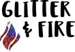 Glitter + Fire