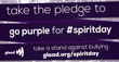 Millions to 'go purple' for Spirit Day in united stand against bullying, 10/16