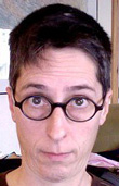 LGBT History Month - Day 03 - Alison Bechdel