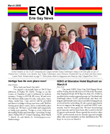 GLBT equality legislation meeting in Erie PA